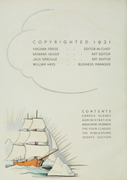 Page 6, 1931 Edition, University of Washington - Tyee Yearbook (Seattle, WA) online yearbook collection