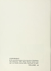 Page 6, 1947 Edition, University of Washington - Tyee Yearbook (Seattle, WA) online yearbook collection