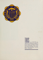 Page 5, 1949 Edition, University of Washington - Tyee Yearbook (Seattle, WA) online yearbook collection