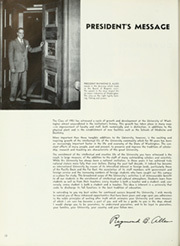 Page 16, 1951 Edition, University of Washington - Tyee Yearbook (Seattle, WA) online yearbook collection