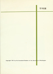 Page 5, 1951 Edition, University of Washington - Tyee Yearbook (Seattle, WA) online yearbook collection