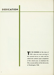 Page 8, 1951 Edition, University of Washington - Tyee Yearbook (Seattle, WA) online yearbook collection