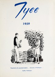 Page 5, 1959 Edition, University of Washington - Tyee Yearbook (Seattle, WA) online yearbook collection