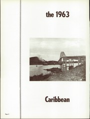 Page 6, 1963 Edition, Cristobal High School - Caribbean Yearbook (Canal Zone Coco Solo, Panama) online yearbook collection