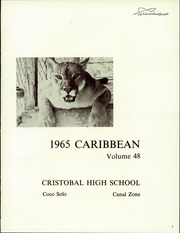 Page 5, 1965 Edition, Cristobal High School - Caribbean Yearbook (Canal Zone Coco Solo, Panama) online yearbook collection