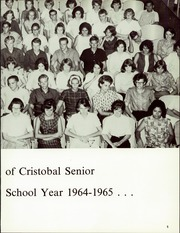 Page 9, 1965 Edition, Cristobal High School - Caribbean Yearbook (Canal Zone Coco Solo, Panama) online yearbook collection