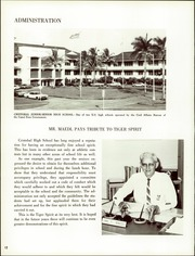 Page 16, 1970 Edition, Cristobal High School - Caribbean Yearbook (Canal Zone Coco Solo, Panama) online yearbook collection