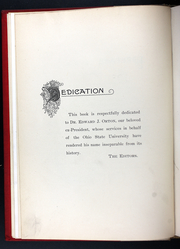 Page 14, 1892 Edition, Ohio State University - Makio Yearbook (Columbus, OH) online yearbook collection