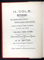 Page 8, 1892 Edition, Ohio State University - Makio Yearbook (Columbus, OH) online yearbook collection