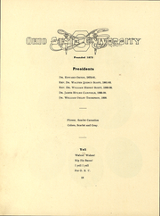 Page 12, 1904 Edition, Ohio State University - Makio Yearbook (Columbus, OH) online yearbook collection