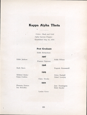 Page 136, 1907 Edition, Ohio State University - Makio Yearbook (Columbus, OH) online yearbook collection