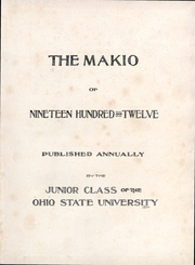 Page 5, 1912 Edition, Ohio State University - Makio Yearbook (Columbus, OH) online yearbook collection