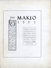 Page 3, 1913 Edition, Ohio State University - Makio Yearbook (Columbus, OH) online yearbook collection