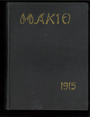 Page 1, 1915 Edition, Ohio State University - Makio Yearbook (Columbus, OH) online yearbook collection