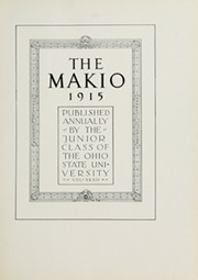 Page 7, 1915 Edition, Ohio State University - Makio Yearbook (Columbus, OH) online yearbook collection