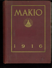 Page 1, 1916 Edition, Ohio State University - Makio Yearbook (Columbus, OH) online yearbook collection