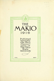 Page 7, 1916 Edition, Ohio State University - Makio Yearbook (Columbus, OH) online yearbook collection