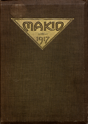 Page 1, 1917 Edition, Ohio State University - Makio Yearbook (Columbus, OH) online yearbook collection