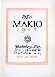 Page 5, 1917 Edition, Ohio State University - Makio Yearbook (Columbus, OH) online yearbook collection