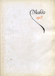 Page 3, 1918 Edition, Ohio State University - Makio Yearbook (Columbus, OH) online yearbook collection