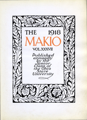 Page 4, 1918 Edition, Ohio State University - Makio Yearbook (Columbus, OH) online yearbook collection