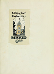 Page 7, 1922 Edition, Ohio State University - Makio Yearbook (Columbus, OH) online yearbook collection
