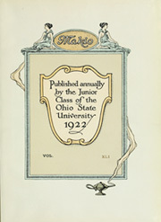 Page 9, 1922 Edition, Ohio State University - Makio Yearbook (Columbus, OH) online yearbook collection