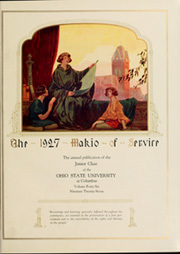 Page 9, 1927 Edition, Ohio State University - Makio Yearbook (Columbus, OH) online yearbook collection