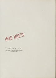 Page 4, 1940 Edition, Ohio State University - Makio Yearbook (Columbus, OH) online yearbook collection