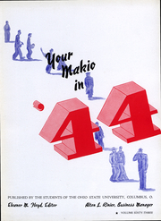 Page 4, 1944 Edition, Ohio State University - Makio Yearbook (Columbus, OH) online yearbook collection