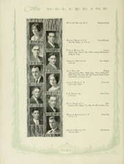 Page 40, 1930 Edition, Michigan State University - Red Cedar Log Yearbook (East Lansing, MI) online yearbook collection