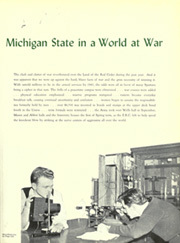 Page 11, 1943 Edition, Michigan State University - Red Cedar Log Yearbook (East Lansing, MI) online yearbook collection