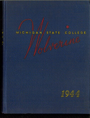 Page 1, 1944 Edition, Michigan State University - Red Cedar Log Yearbook (East Lansing, MI) online yearbook collection