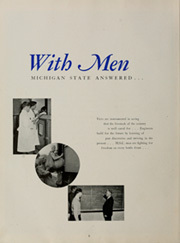 Page 10, 1944 Edition, Michigan State University - Red Cedar Log Yearbook (East Lansing, MI) online yearbook collection