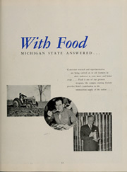 Page 17, 1944 Edition, Michigan State University - Red Cedar Log Yearbook (East Lansing, MI) online yearbook collection