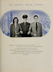 Page 7, 1944 Edition, Michigan State University - Red Cedar Log Yearbook (East Lansing, MI) online yearbook collection