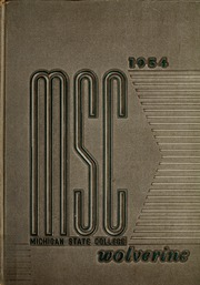 1954 Edition, Michigan State University - Red Cedar Log Yearbook (East Lansing, MI)