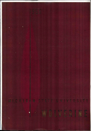 1956 Edition, Michigan State University - Red Cedar Log Yearbook (East Lansing, MI)