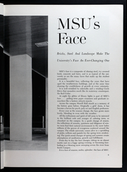 Page 13, 1957 Edition, Michigan State University - Red Cedar Log Yearbook (East Lansing, MI) online yearbook collection