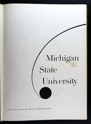 Page 5, 1957 Edition, Michigan State University - Red Cedar Log Yearbook (East Lansing, MI) online yearbook collection
