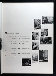 Page 9, 1957 Edition, Michigan State University - Red Cedar Log Yearbook (East Lansing, MI) online yearbook collection
