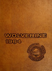 1964 Edition, Michigan State University - Red Cedar Log Yearbook (East Lansing, MI)