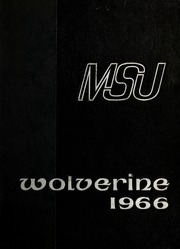 1966 Edition, Michigan State University - Red Cedar Log Yearbook (East Lansing, MI)