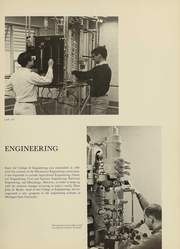 Page 100, 1967 Edition, Michigan State University - Red Cedar Log Yearbook (East Lansing, MI) online yearbook collection