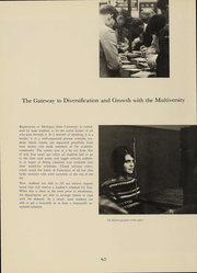Page 41, 1967 Edition, Michigan State University - Red Cedar Log Yearbook (East Lansing, MI) online yearbook collection
