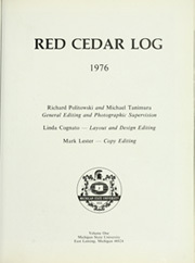 Page 7, 1976 Edition, Michigan State University - Red Cedar Log Yearbook (East Lansing, MI) online yearbook collection