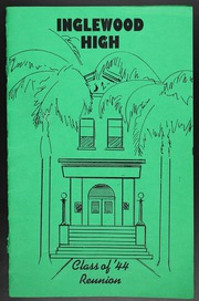 1984 Edition, Inglewood High School - Green and White Yearbook (Inglewood, CA)