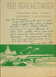 Page 7, 1950 Edition, Coronado High School - Beachcomber Yearbook (Coronado, CA) online yearbook collection