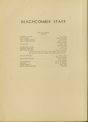 Page 8, 1952 Edition, Coronado High School - Beachcomber Yearbook (Coronado, CA) online yearbook collection