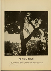 Page 9, 1952 Edition, Coronado High School - Beachcomber Yearbook (Coronado, CA) online yearbook collection